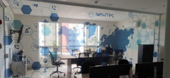 Reestruturação da sede da Newtec Telemetria